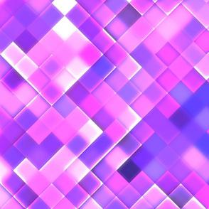 Lilac Bright Squares