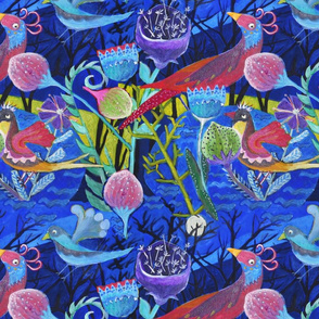 Midnight Birds, by Susanne Mason