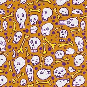 Ochre Skulls