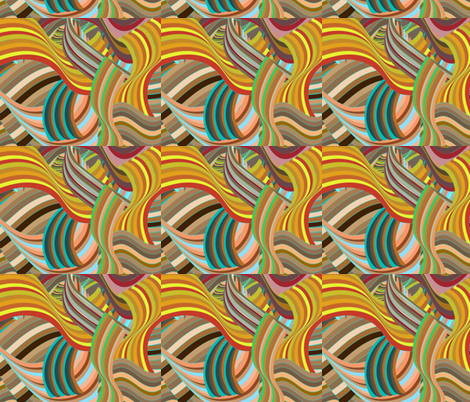 Mixed-up Strata fabric by gracelillydesigns on Spoonflower - custom fabric