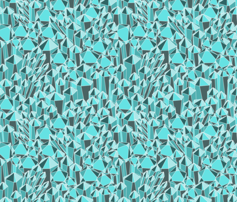 Crystalized fabric by ameemax on Spoonflower - custom fabric