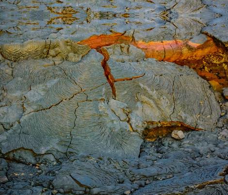 Galapagos Lava Rock fabric by myanny on Spoonflower - custom fabric