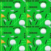 Golf on Green