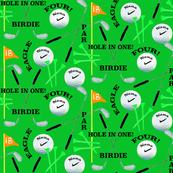 Nana Green Golf Custom Fabric