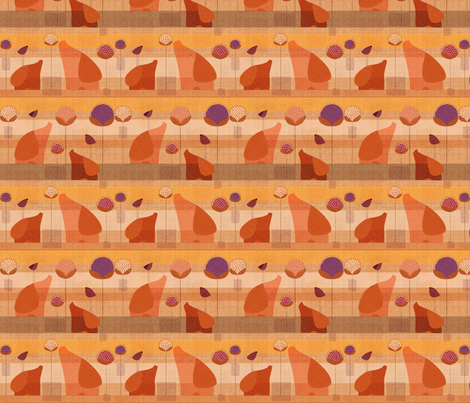 For the love of elephants fabric by miloudesigns on Spoonflower - custom fabric