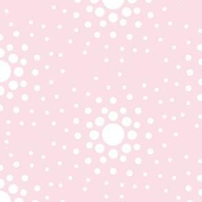 Pink Nsu Bra Dot Pattern