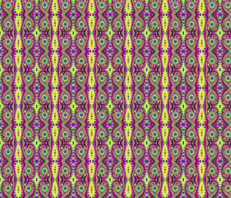 Linear Distortion #4 fabric by rockingmstudio on Spoonflower - custom fabric