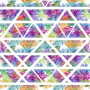 Geometric Tropical Leaves