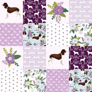 english springer spaniel pet quilt c cheater quilt collection