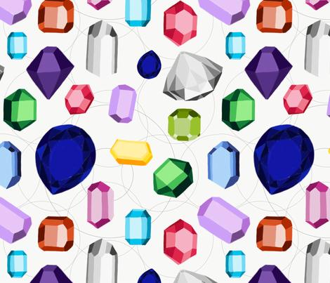 Geology Rocks! fabric by designbysarah on Spoonflower - custom fabric