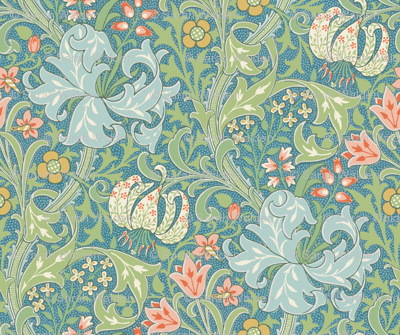 Golden Lily ~ Original  ~ The William Morris Collection