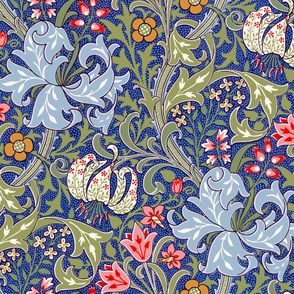 Golden Lily ~ Intense ~ The William Morris Collection
