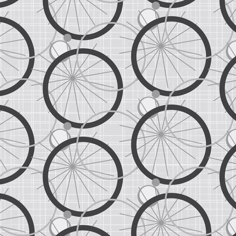 Deconstructed Bike Tires  fabric by studioxtine on Spoonflower - custom fabric