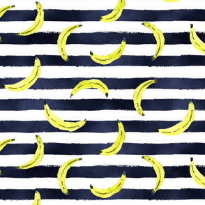 Neon Bananas Stripe