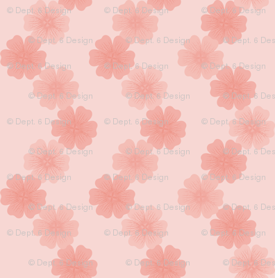 Cranesbill Chain: Rose Gold Geraniums