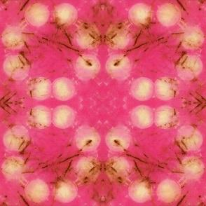 Pink Circle Shibori