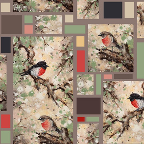 Scarlet Robins merged