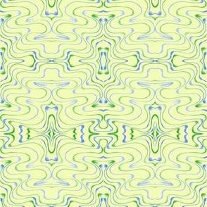 Billabong Contours on a Whisper of Green
