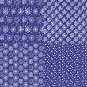 Dandelion Blue Fat Quarters
