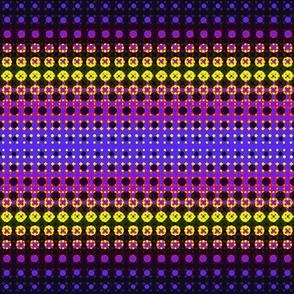Halftones Purple/Pink