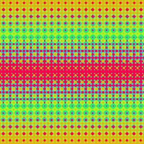 Light Halftones Yellow/Red
