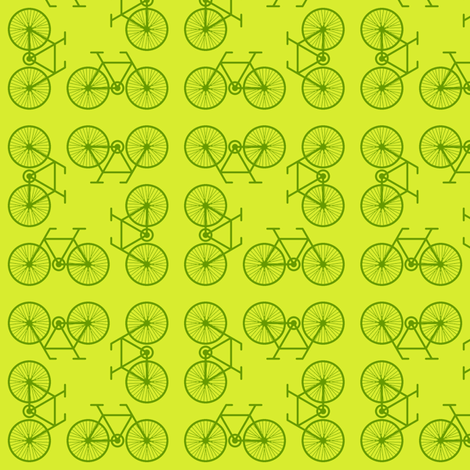 07487645 : cycling 4gX : grass green fabric by sef on Spoonflower - custom fabric