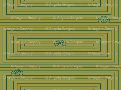 Modern Frontier Bike Maze