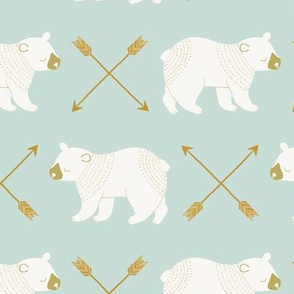 bears and arrows mint