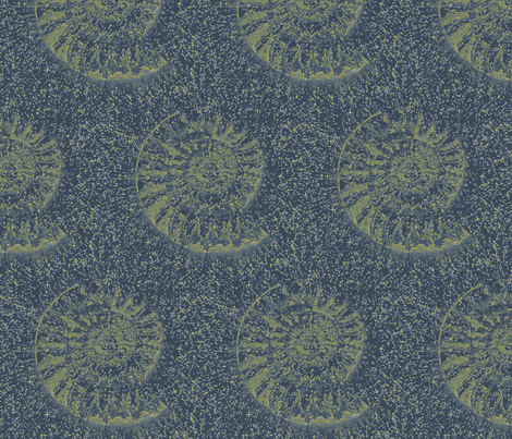 Ammonite fabric by tink-a-bel on Spoonflower - custom fabric