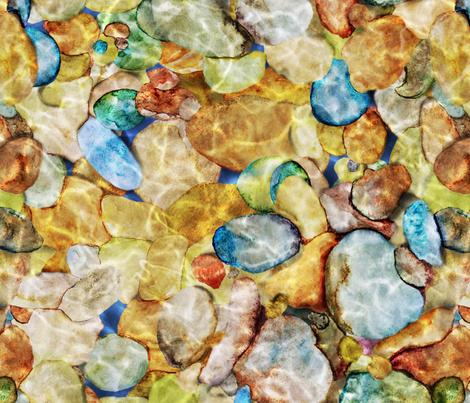 River Rocks fabric by vo_aka_virginiao on Spoonflower - custom fabric