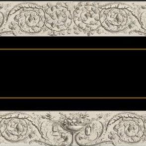 Acanthus Scrolls Stripe