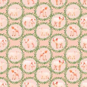 Cute Watercolor Piggies!