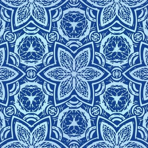ornamental in blues