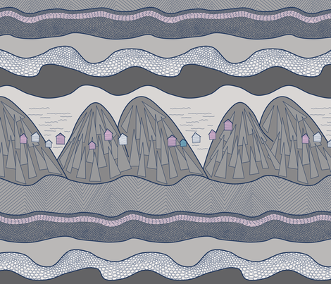 Mysterious Adironack Geology fabric by lalalamonique on Spoonflower - custom fabric