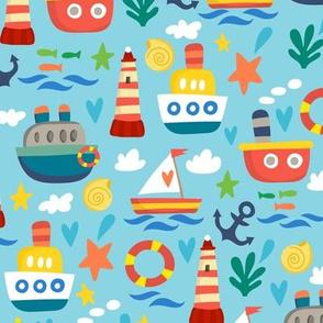Boats Ahoy