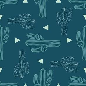 saguaro cactus toss teal