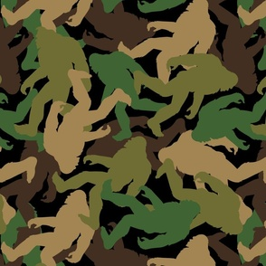 Bigfoot Camouflage - Large