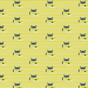 CAT BLINDS CITRON