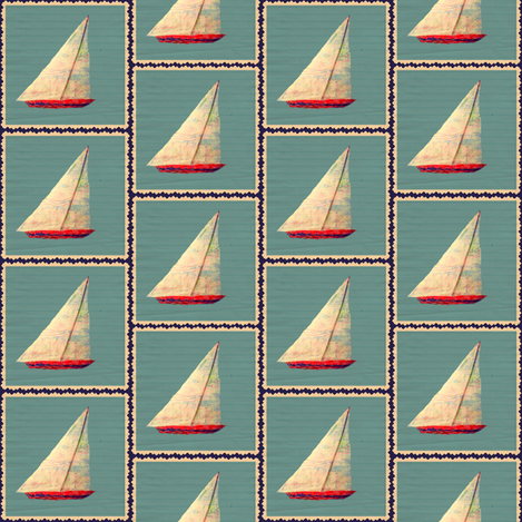 Ship Ahoy fabric by sowgoodgreta on Spoonflower - custom fabric