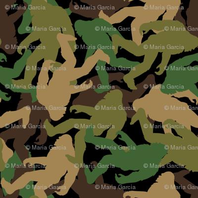 Bigfoot Camouflage - Medium