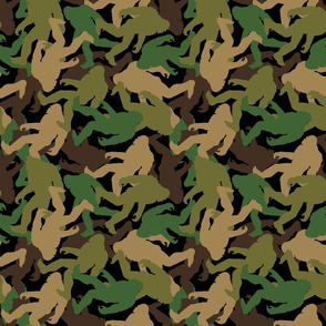 Bigfoot Camouflage - Medium