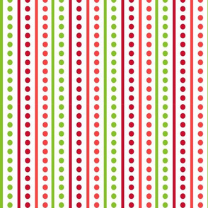 Brr Stripes Green Red
