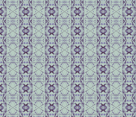 Tic-Tac-Toe (Purple, Plum & Teal) fabric by belovedsycamore on Spoonflower - custom fabric