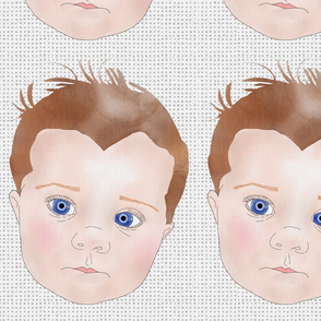 Blue-eyed baby