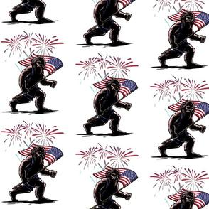 Patriotic Sasquatch