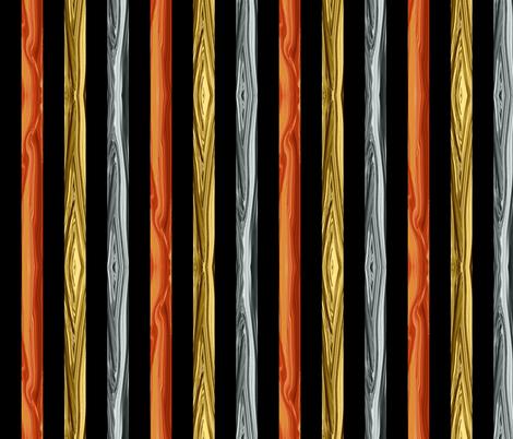 PM - Geology Challenge April 2018 - Precious Metal Stripe fabric by maryyx on Spoonflower - custom fabric