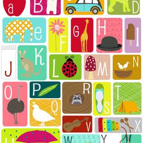 Alphabet Chart - Yard