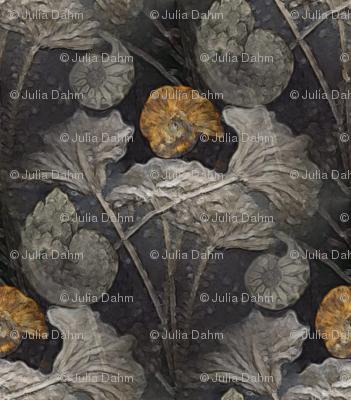 fossil waterlilies