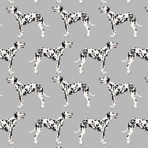 dalmatian dog (smaller scale) cute dogs pet dogs grey dog fabric for pet owners dog lovers dog owners