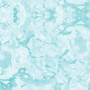 Marbled Aqua